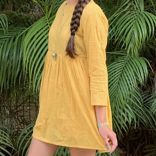 Product Image 1 - Pull and Bear yellow dress