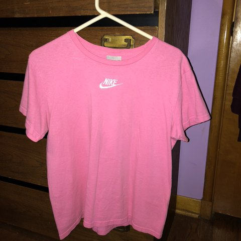 d07d0b1b @theaverry. 21 days ago. North Olmsted, United States. pretty neon pink old  school nike tee. great condition ...