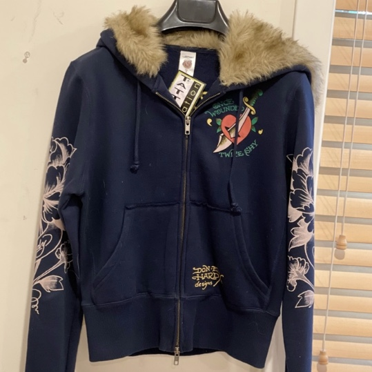 Product Image 1 - ed hardy hoodie with faux