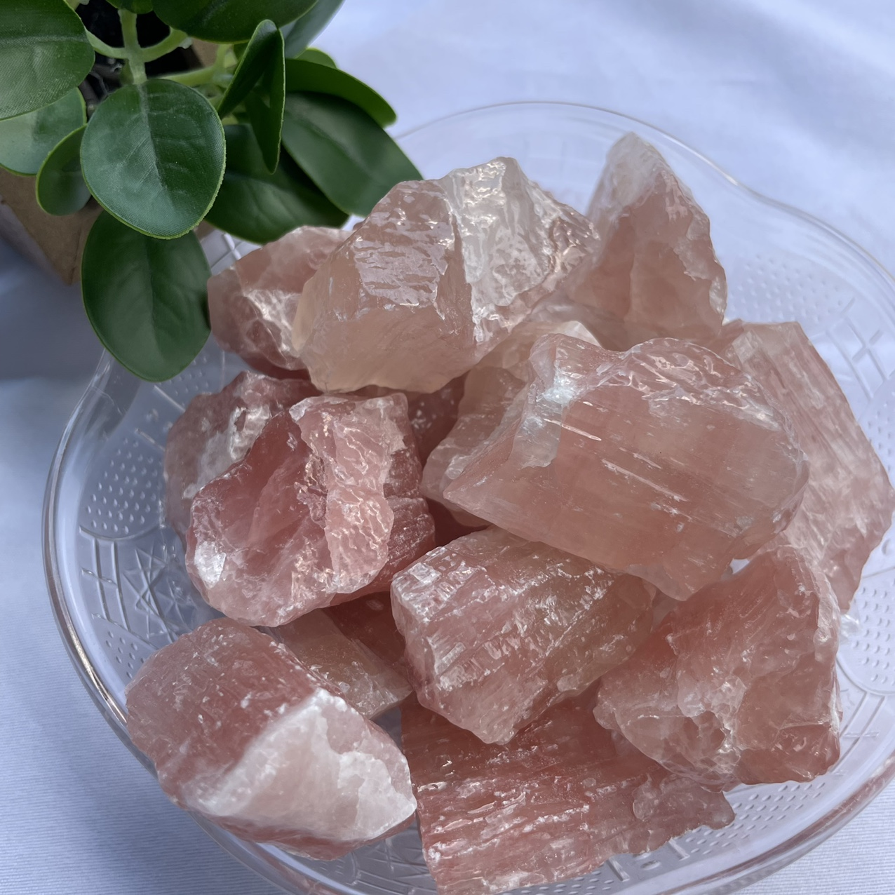 Product Image 1 - ONE strawberry calcite  SIZE -