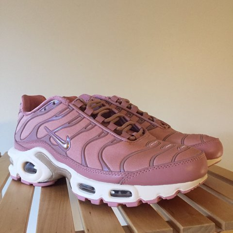 """a6867964d9 @swami_goods. 3 days ago. Pittsburgh, United States. Nike Wmns Air Max Plus  """"Rust Pink"""""""