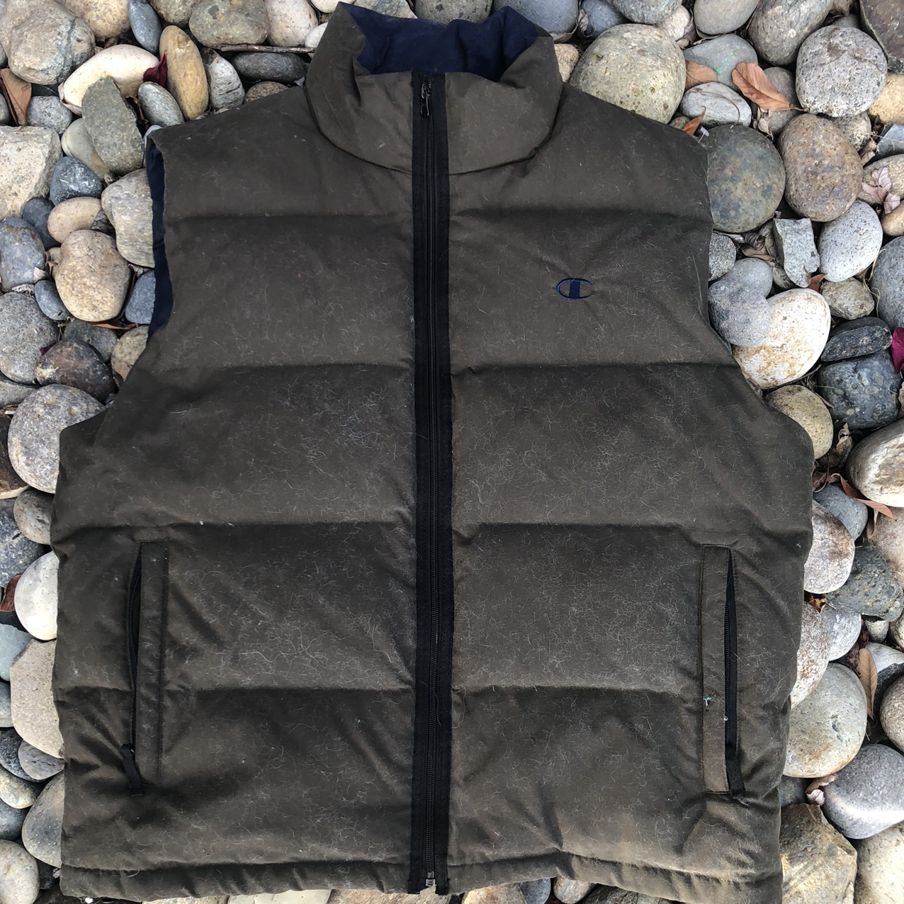 Product Image 1 - Vintage Forest Green Champion Puffer