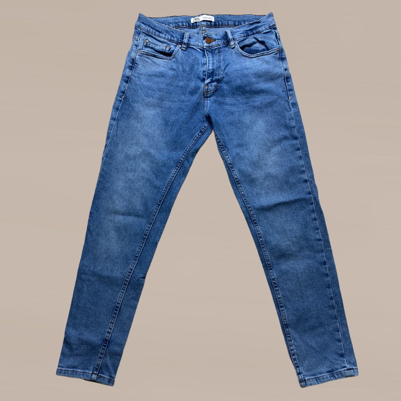 Product Image 1 - Zara Blue Skinny Jeans💌  Have stretch