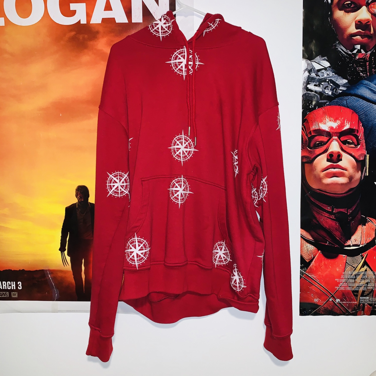 Product Image 1 - All over Compass Hoodie, it's