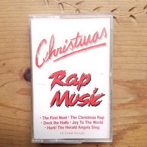 Christmas Rap Music.Listed On Depop By Icantstandpickles