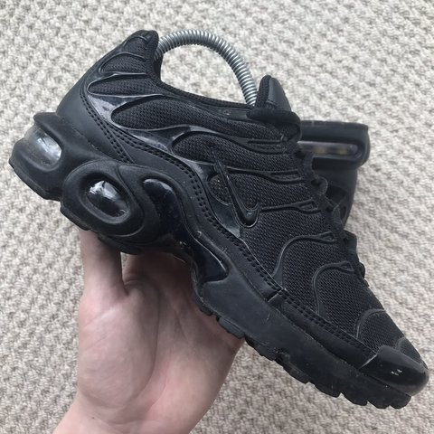 c4f9433141 @mcilvaney. 20 days ago. Bromsgrove, United Kingdom. Nike Air Max Plus TN  Tuned All Black Triple Black Trainers 👟
