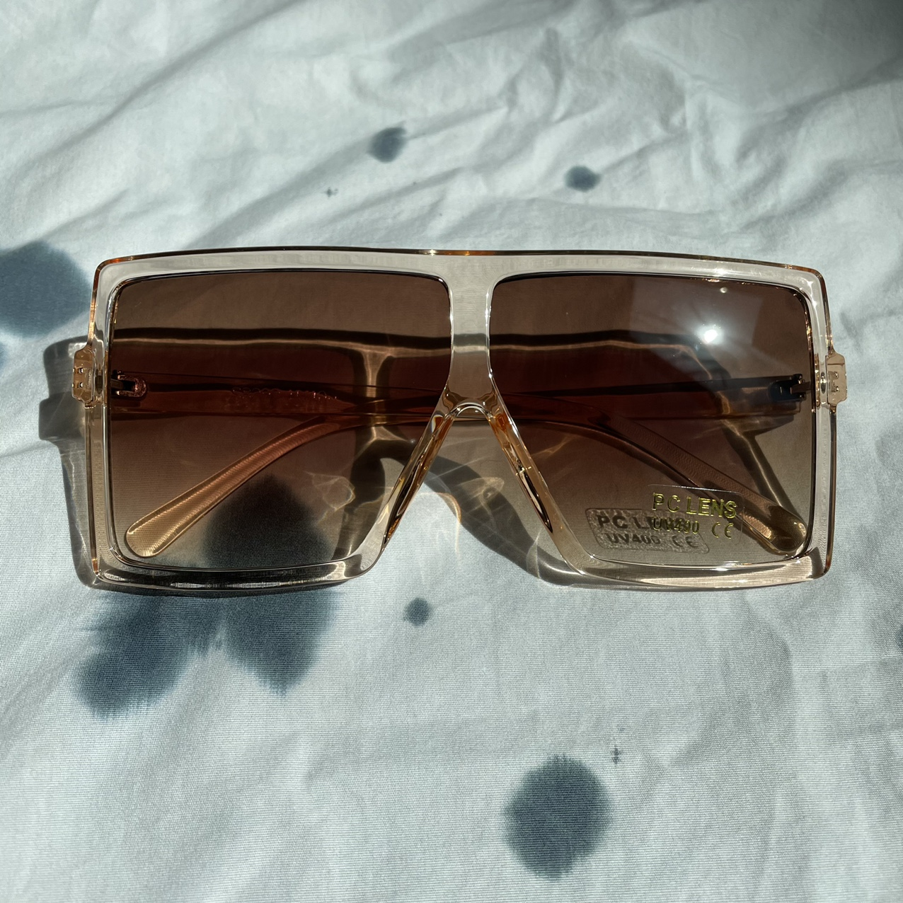 Product Image 1 - Square Oversized Pink Frame Sunglasses  If