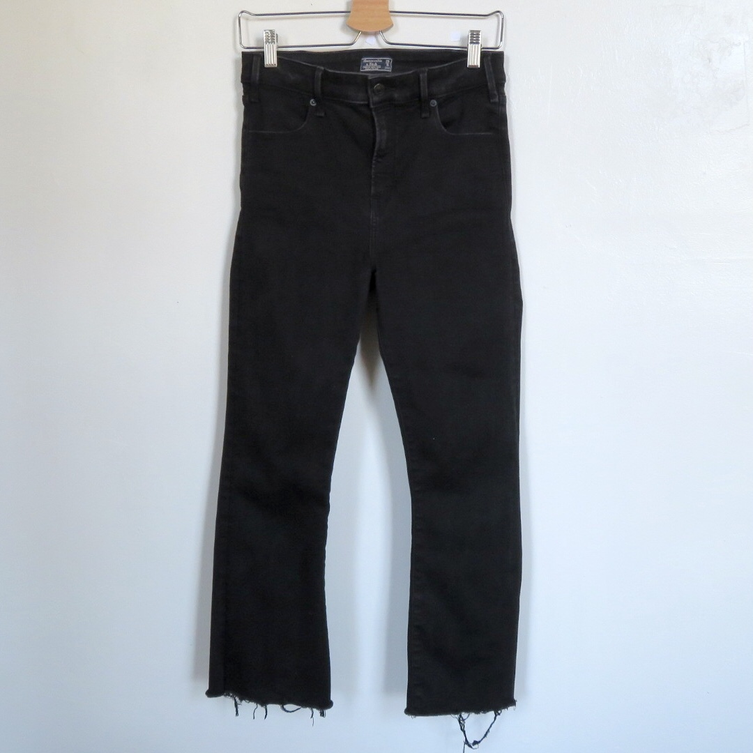Product Image 1 - High Rise Ankle Flare Jeans  Super