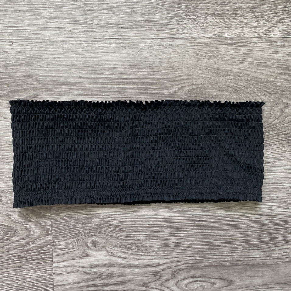 Product Image 1 - Super cute ribbed/textured black strapless