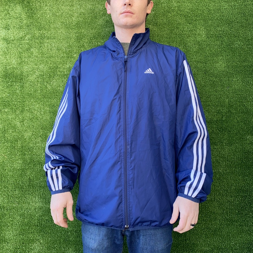 Product Image 1 - Blue and white classic adidas