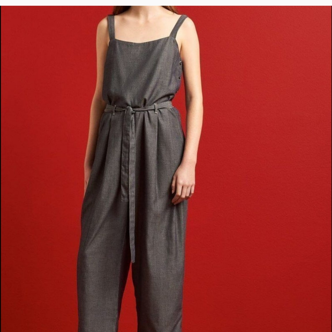 Product Image 1 - Cute lightweight chambray jumpsuit by