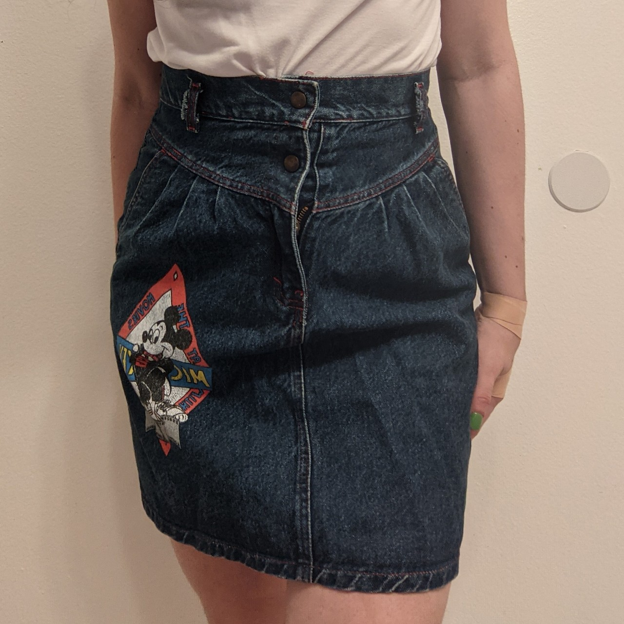 Product Image 1 - Vintage 80s/90s denim Mickey Mouse