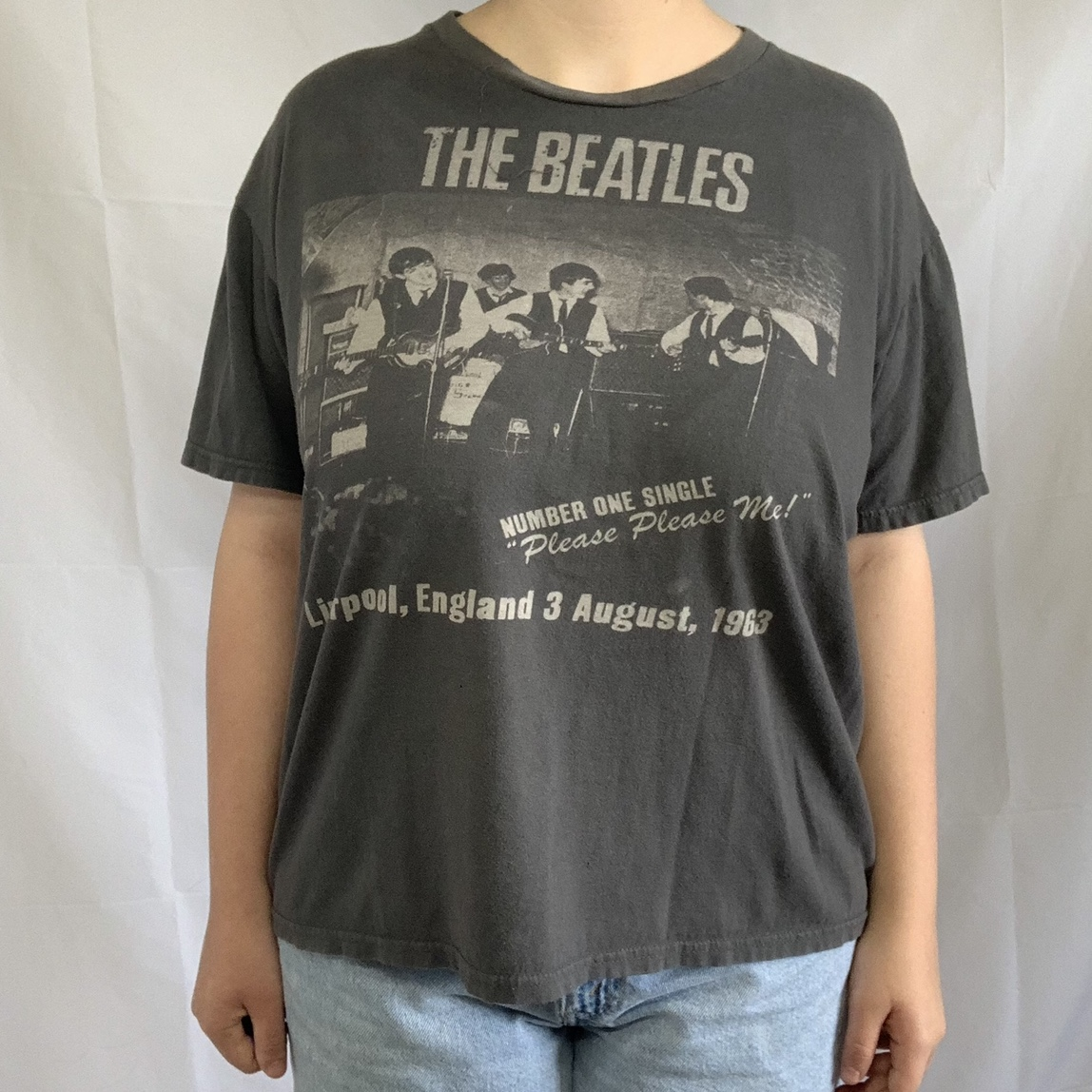 """Product Image 1 - The Beatles """"Liverpool, England"""" T-Shirt"""