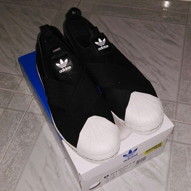 adidas superstar slip on uomo