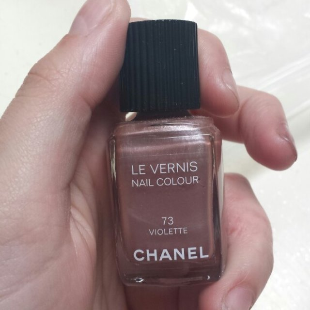 #Chanel #nailvarnish in the colour - 73  violette. Hardly been used, gorgeous colour. RRP. £18