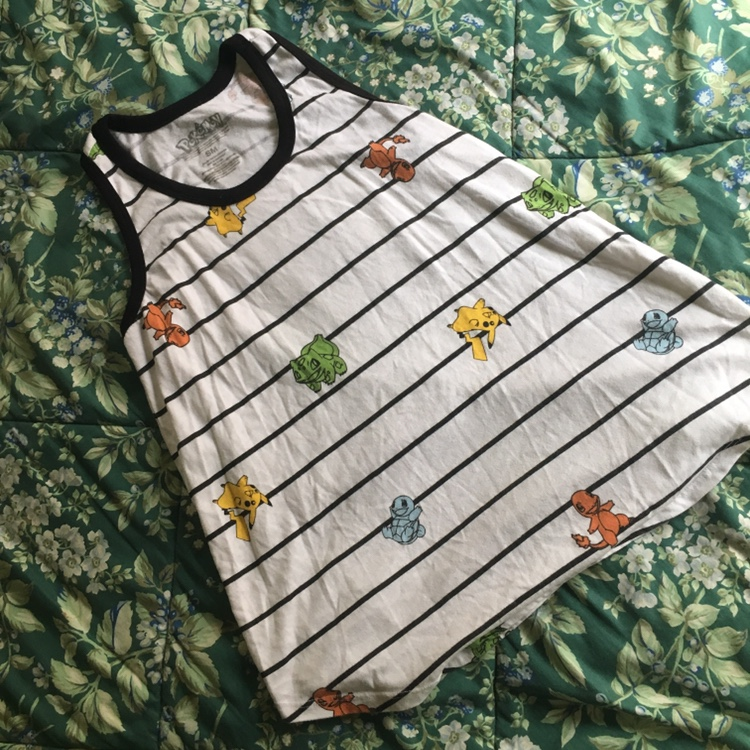 Product Image 1 - Pokémon tank top featuring all