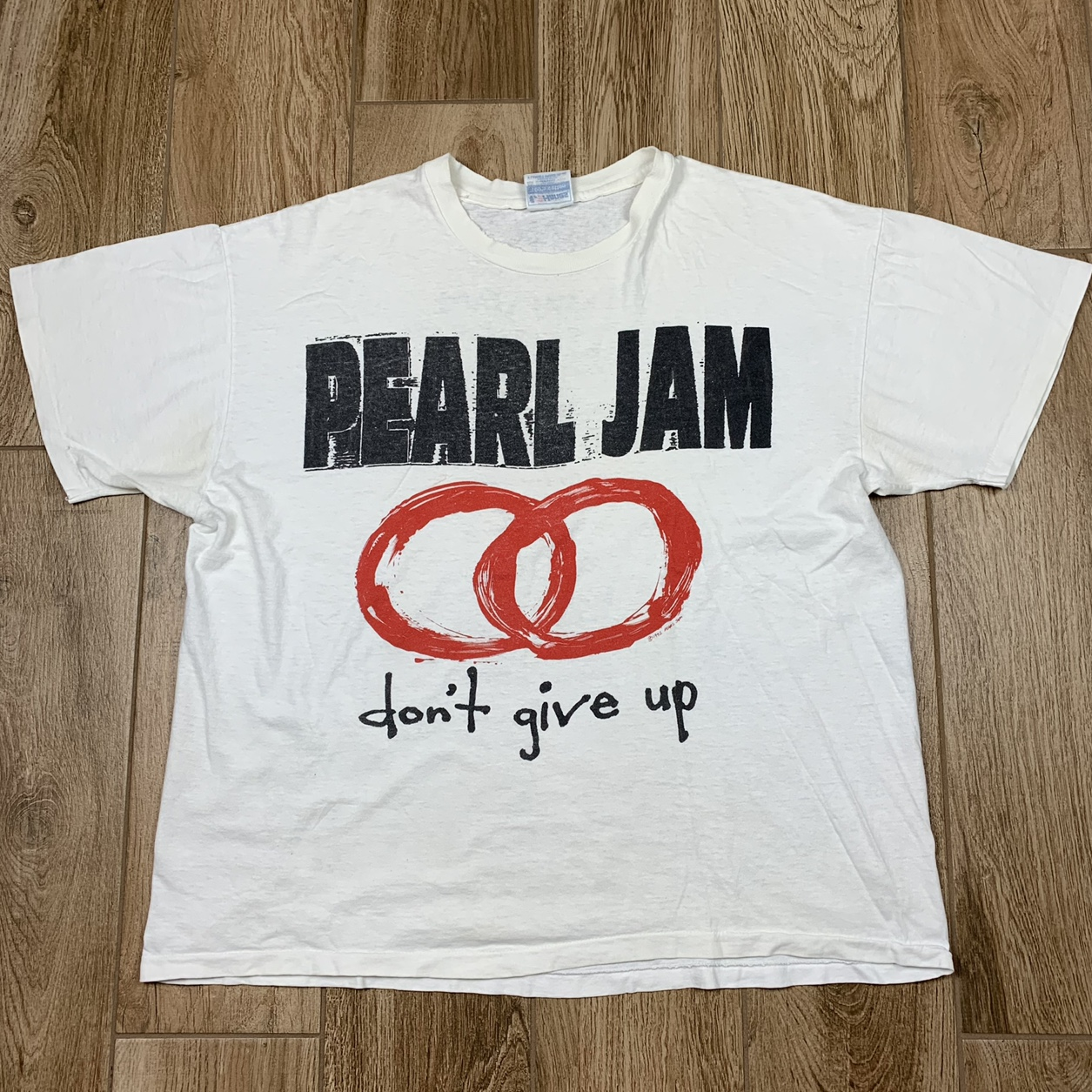 """Product Image 1 - Vintage 1992 Pearl Jam """"Dont"""