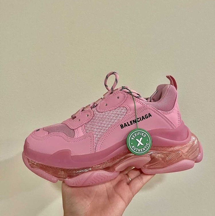 Product Image 1 - Balenciaga Pink Triple S Clear