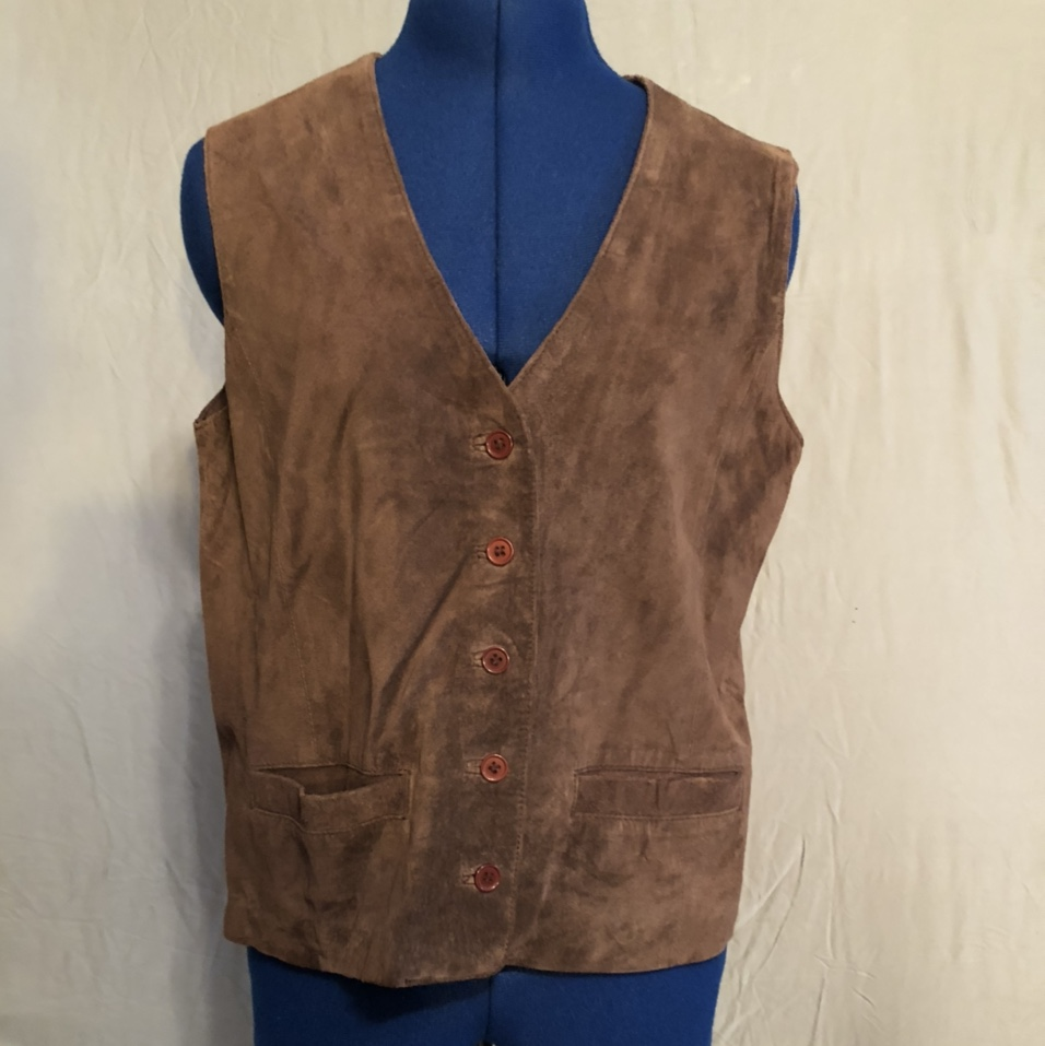 Product Image 1 - Chelsea Campbell 100% leather vest.