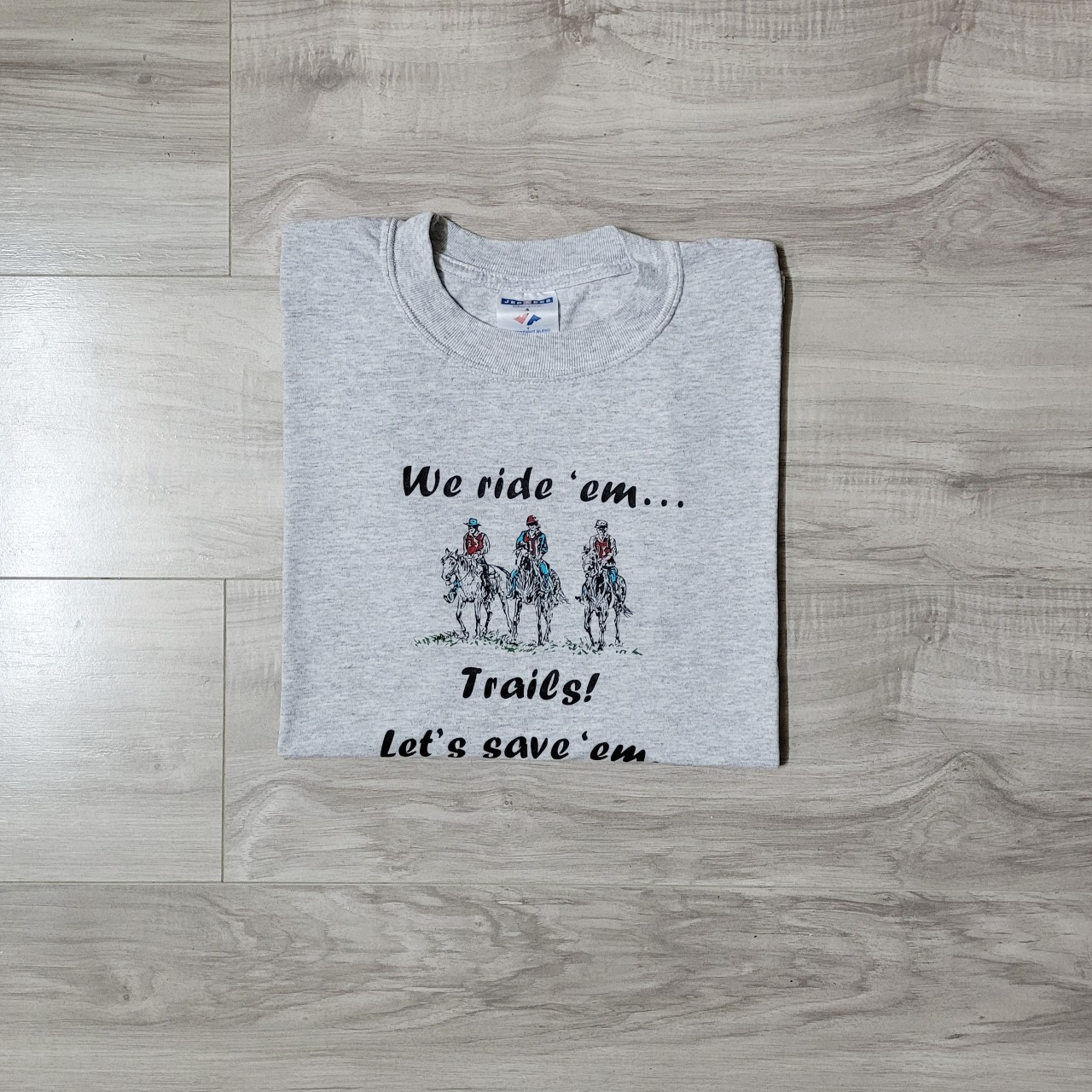 Product Image 1 - Women's horse t-shirt. Reads 'We