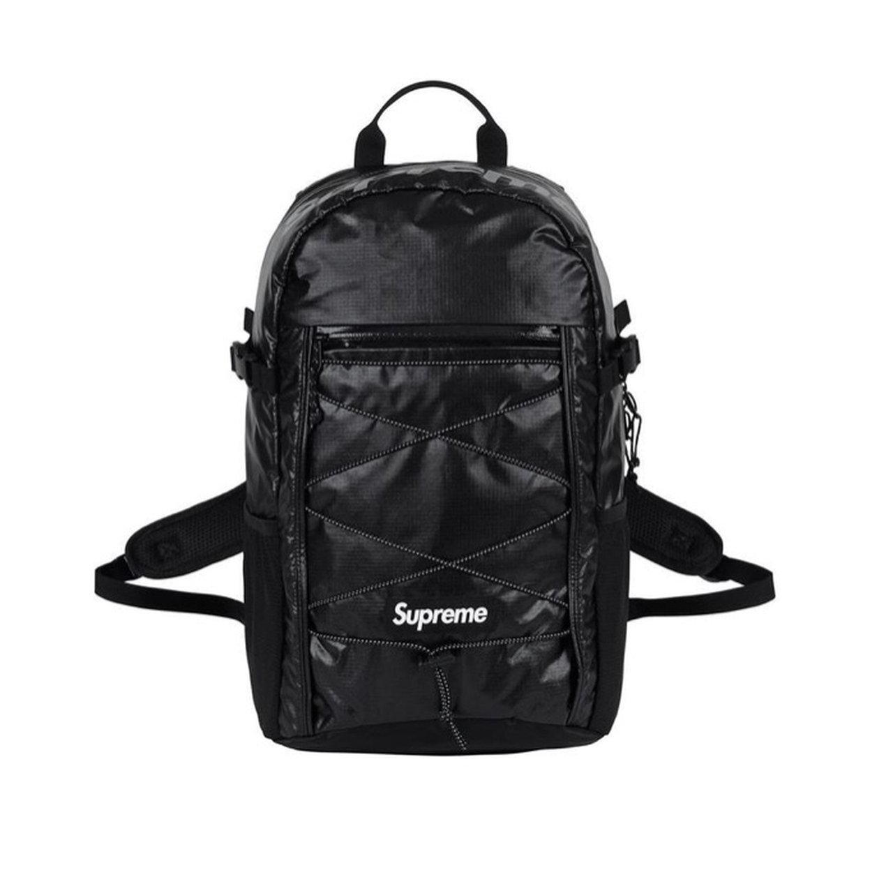 cfcabcc2 LIMITED TIME FREE SHIPPING!! Used SUPREME FW17 backpack! is - Depop