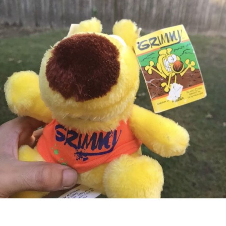 Product Image 1 - NWT 1993 GRIMMY Plush Toy