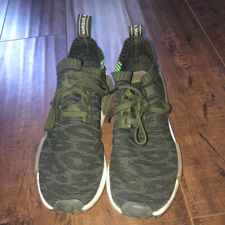 65fb7a3ba72cd ADIDAS NMD GREEN CAMO EXCELLENT CONDITION. $30 · MCM Air Force 1 Authentic