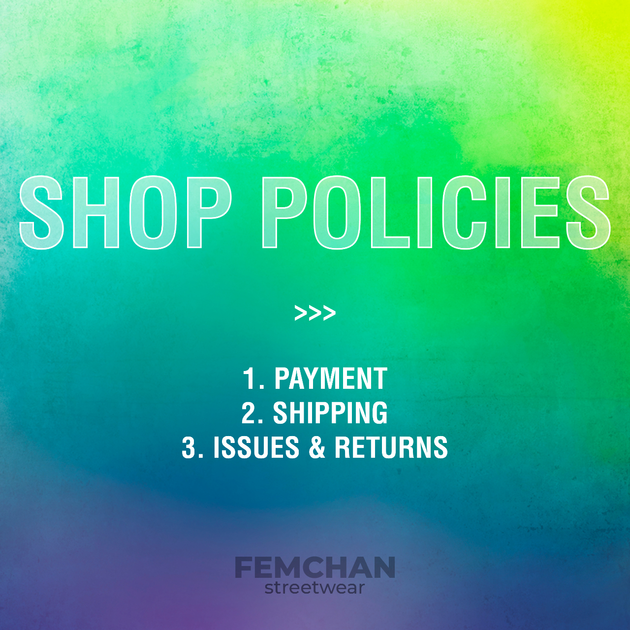 Product Image 1 - ~~ Our Depop shop policies!