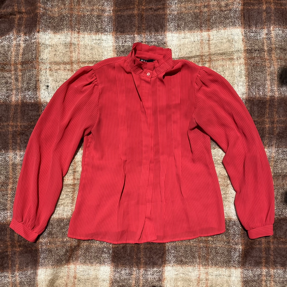 Product Image 1 - cutest red pinstripe long sleeve