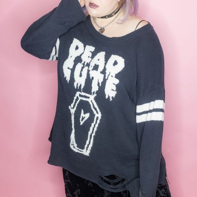 Product Image 1 - Dead cute pastel goth distressed