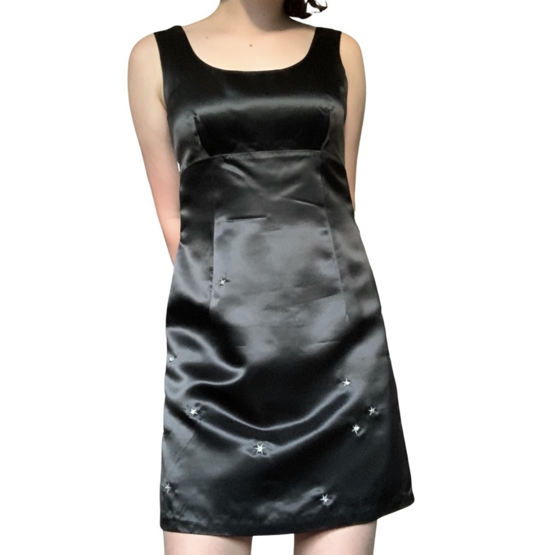 Product Image 1 - Adorable 1990s ('95-'00) black satin