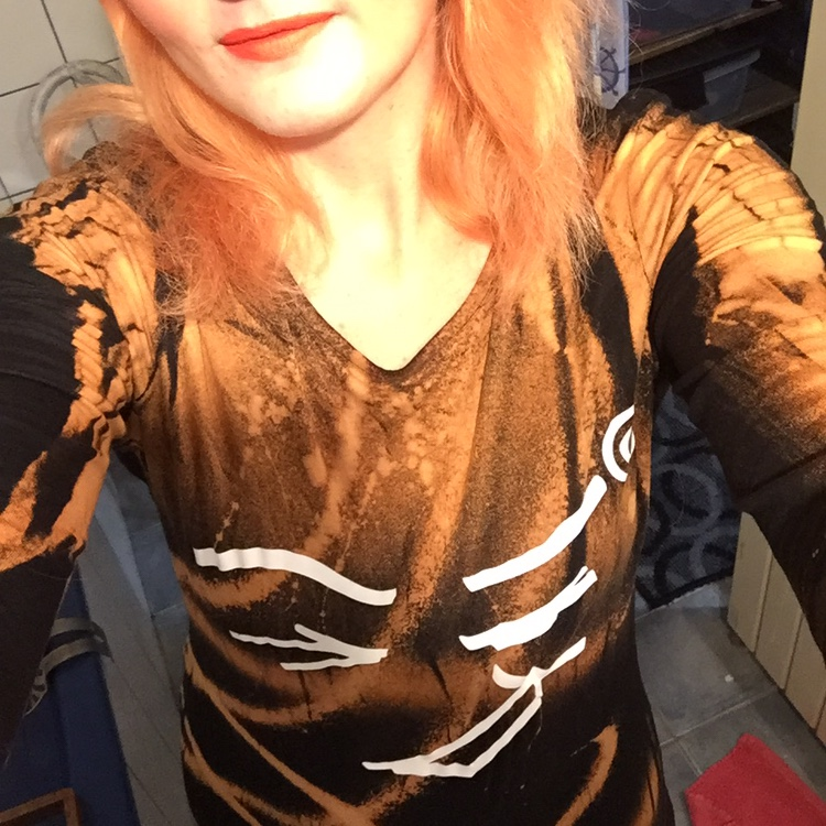 Product Image 1 - One-off lava art jersey dress *These