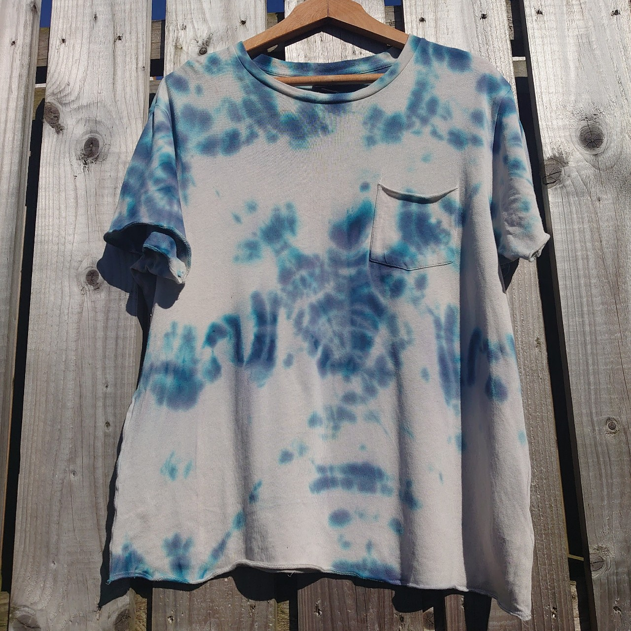 Product Image 1 - Crafty up-cycled  Tiedye Blue on