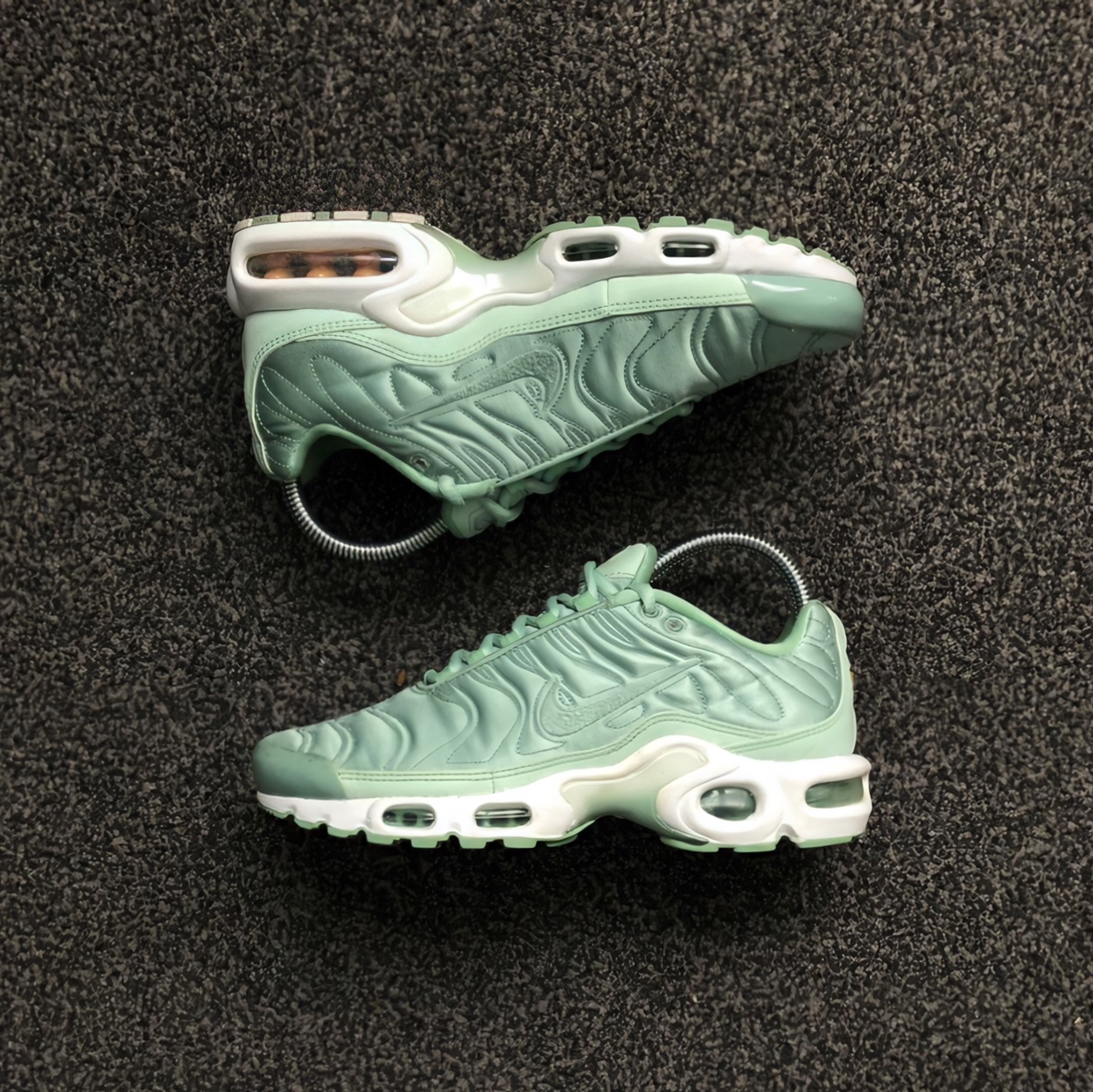 Nike air max plus tn tuned 1 Turquoise Size uk... - Depop