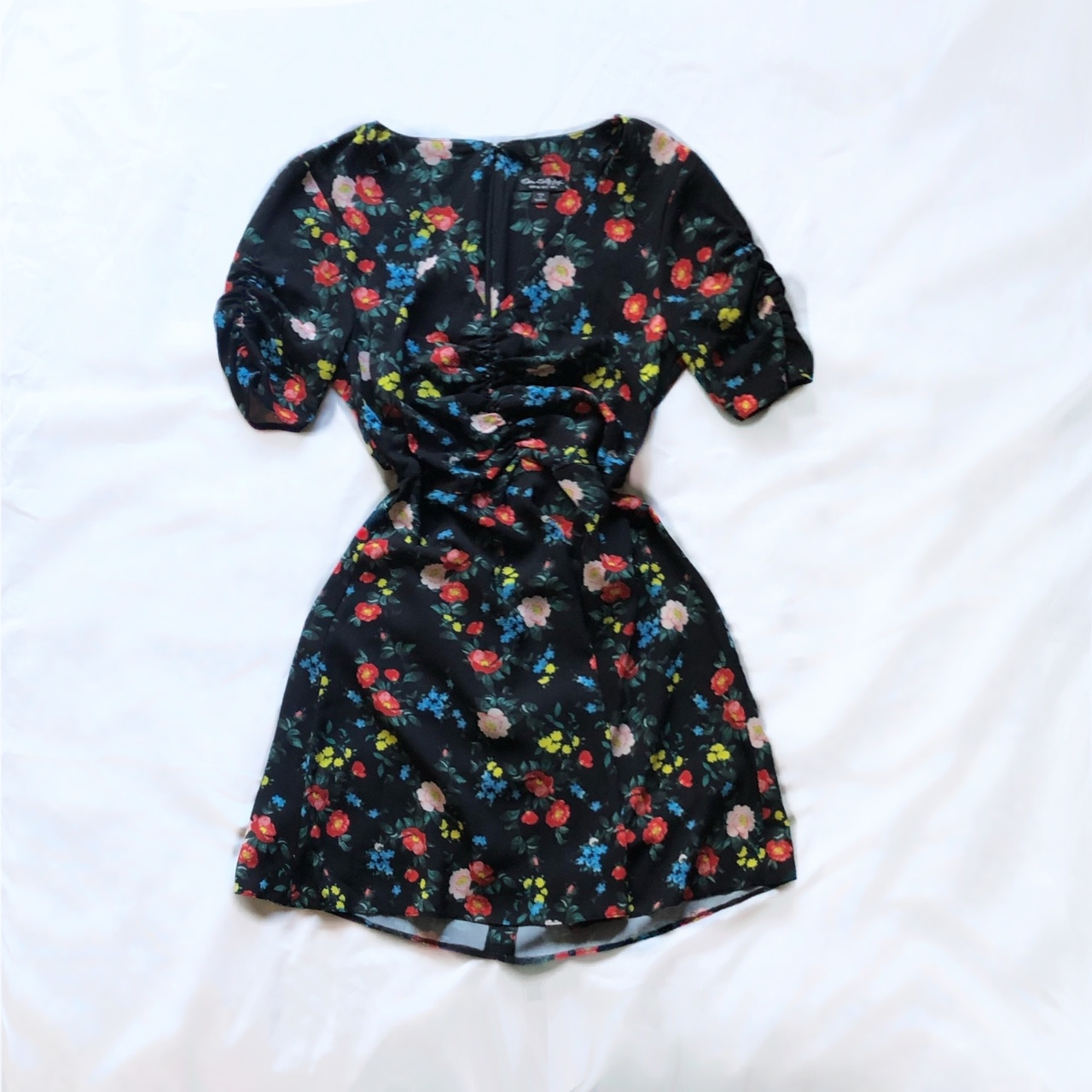 Product Image 1 - miss selfridge ruched floral dress  lightweight
