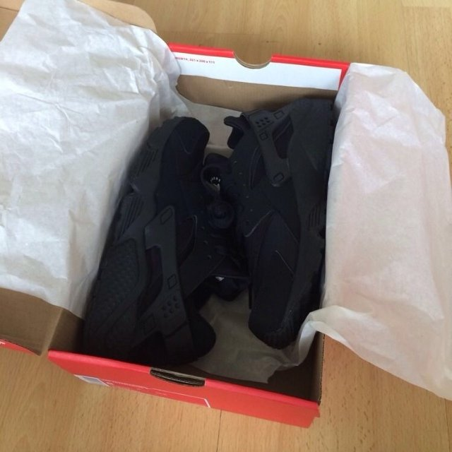 Air Huarache Triple Black Buy