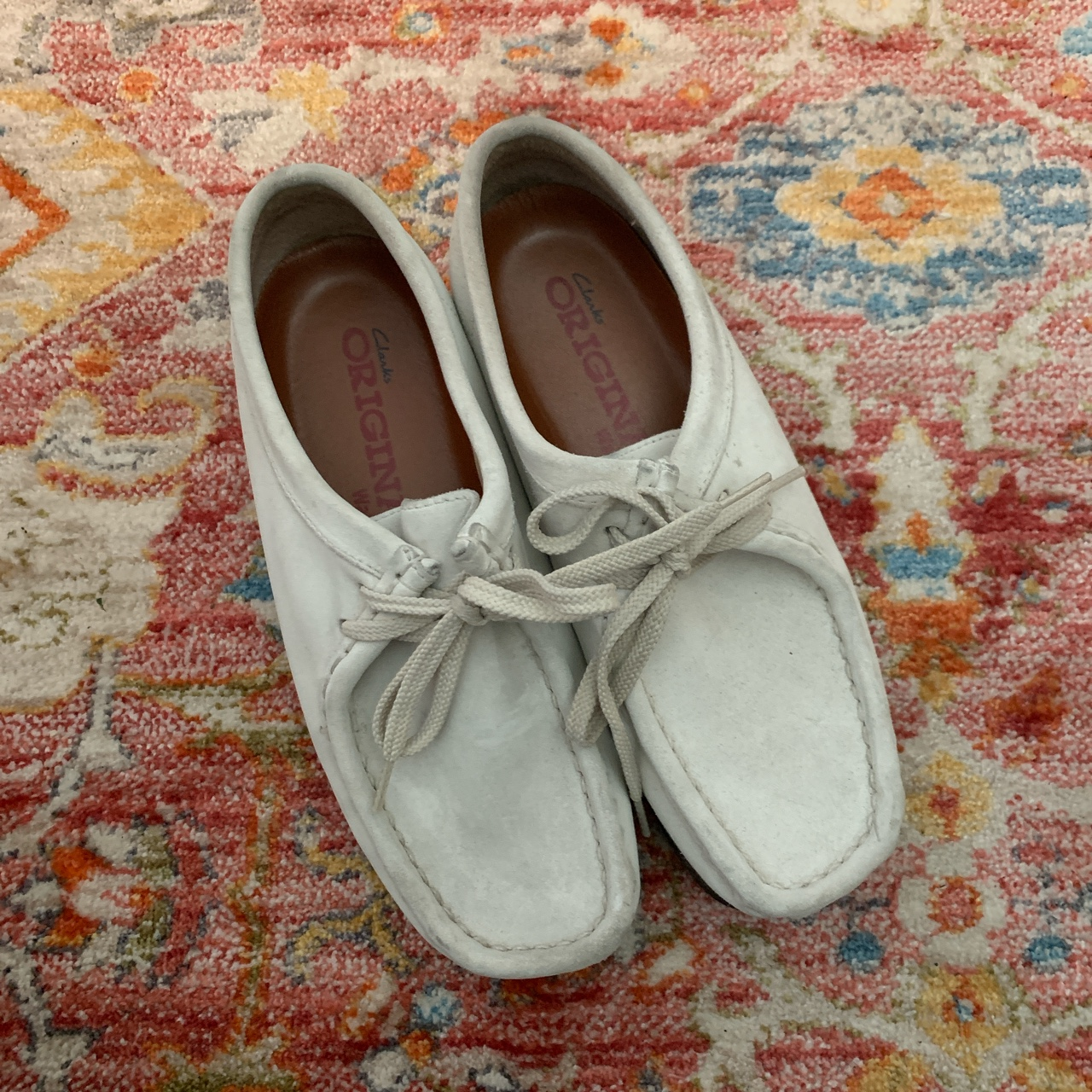 Product Image 1 - Repop! Low-top sand colored Clarks Wallabees