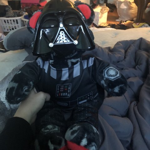 225b36cb06dee5 Star Wars build-a-bear. He's my cute little guy, he makes a - Depop