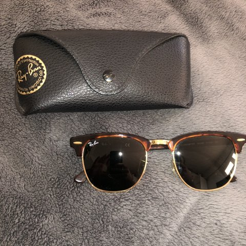 95a28a96e @sofp. last month. London, United Kingdom. Ray Ban Clubmaster Sunglasses