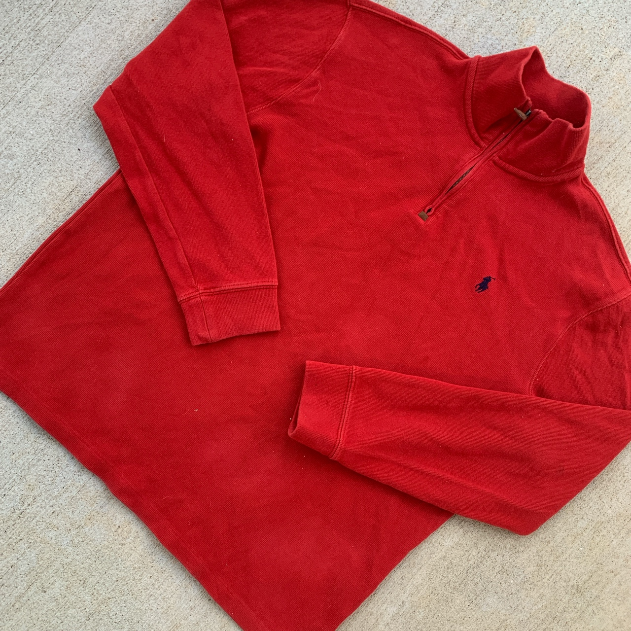 Product Image 1 - red polo ralph lauren quarter