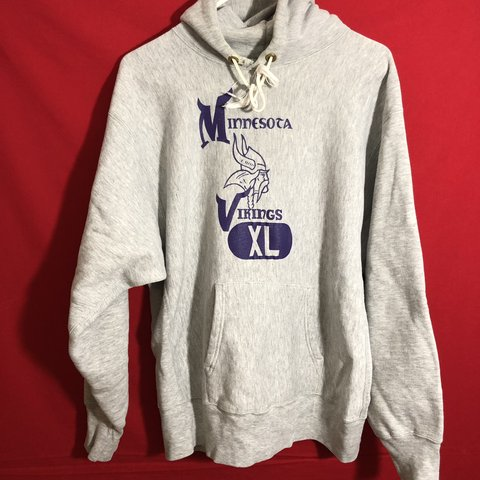 Discount Vintage Minnesota Vikings champion hoodie Awesome condition Depop  supplier