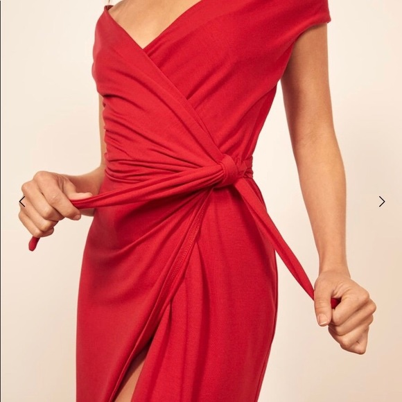 Product Image 1 - Red REFORMATION Sage Dress  Show a
