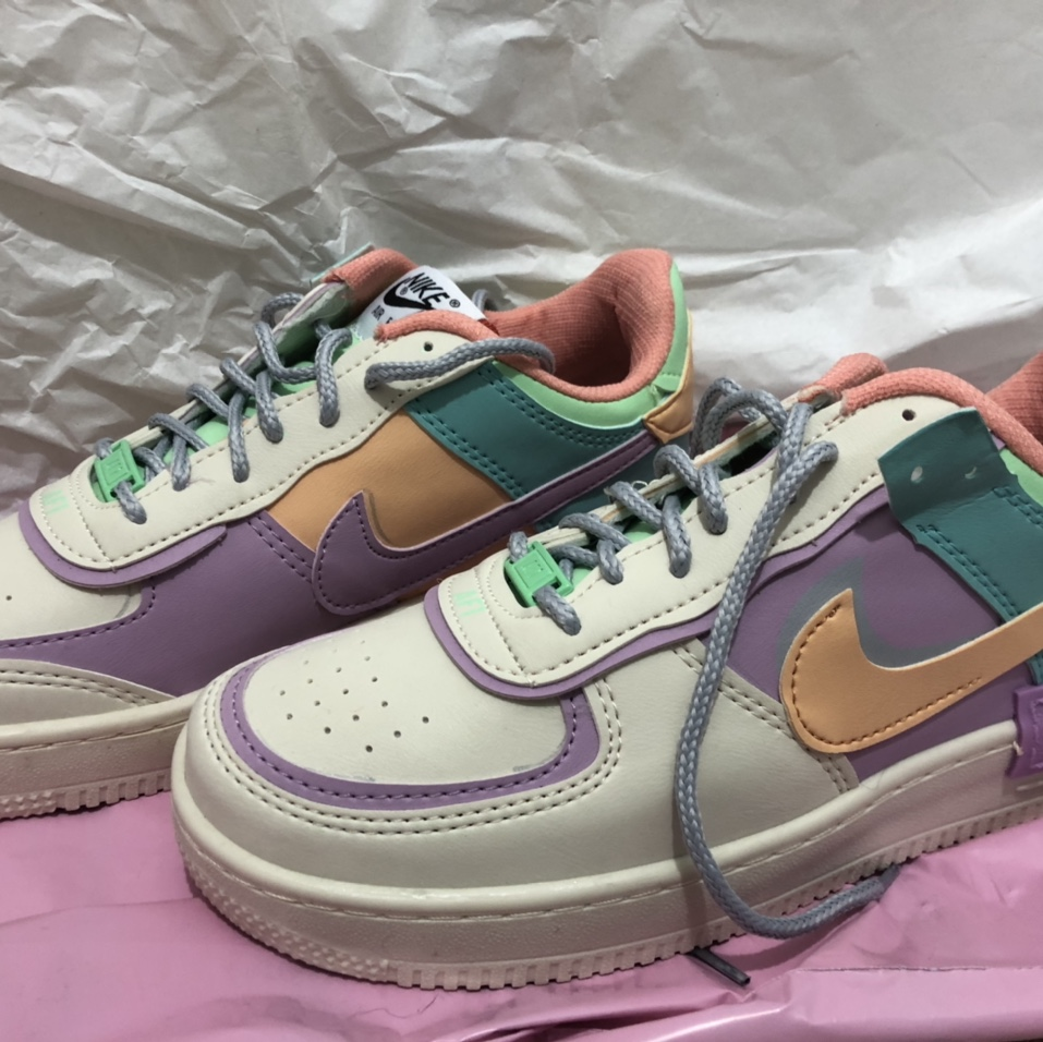 Fake Nike Air Force 1 Shadow Pale Ivory Size 6.5... - Depop