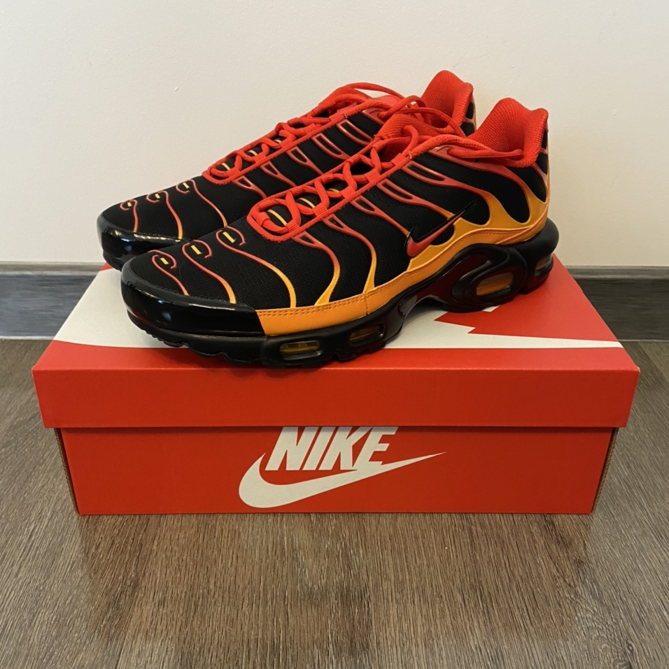 Nike air max Plus TN Volcano New in box These look... - Depop