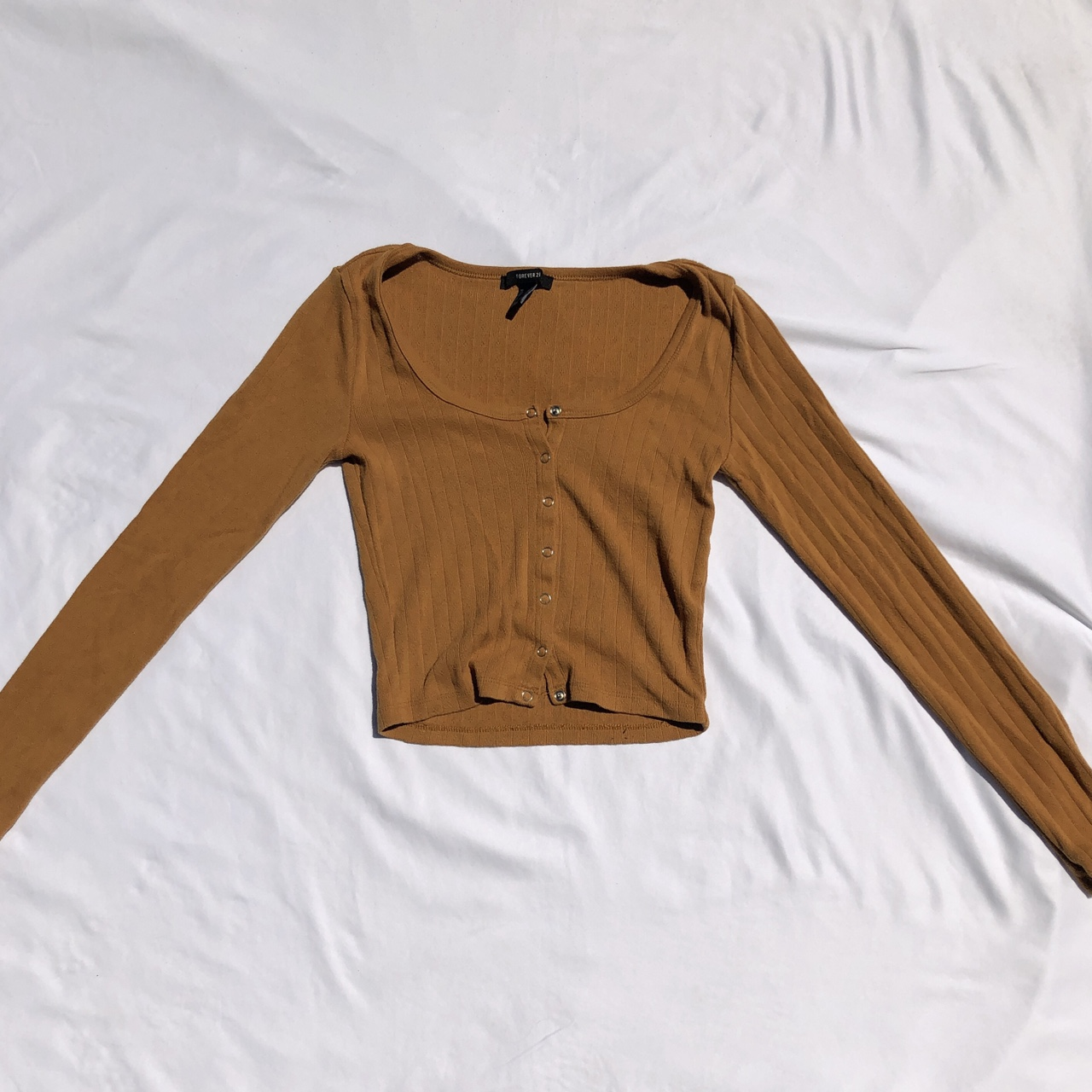 Product Image 1 - pointelle long sleeve henley top