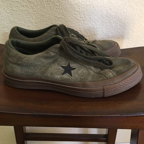 5351c60c8a The coolest Converse One Star suede sneakers - rare find, - - Depop