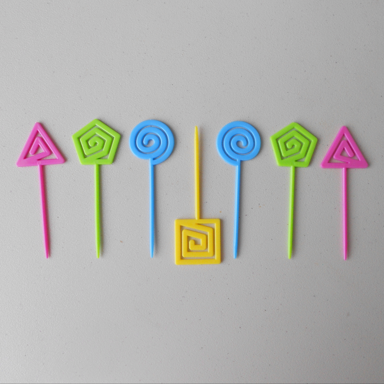 Product Image 1 - Neon Plastic Food Toothpicks Party