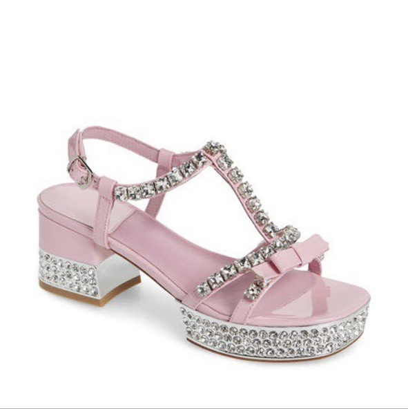 Product Image 1 - Jeffrey Campbell pink heels with