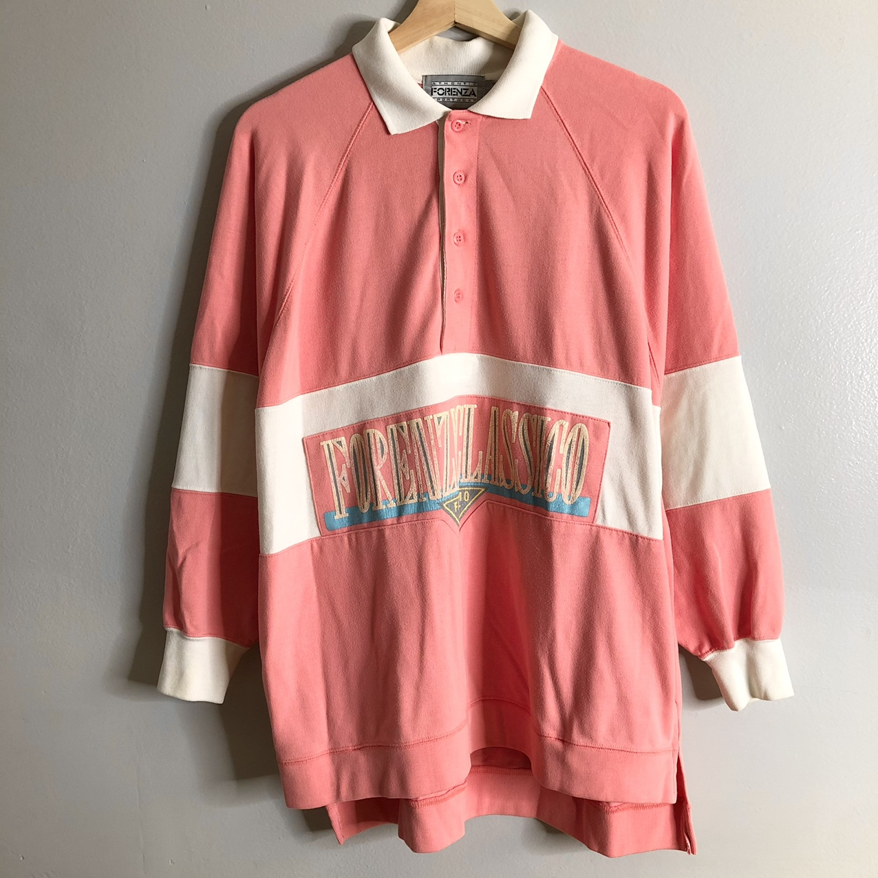 Product Image 1 - Vintage Forenza Sportswear Pink Rugby