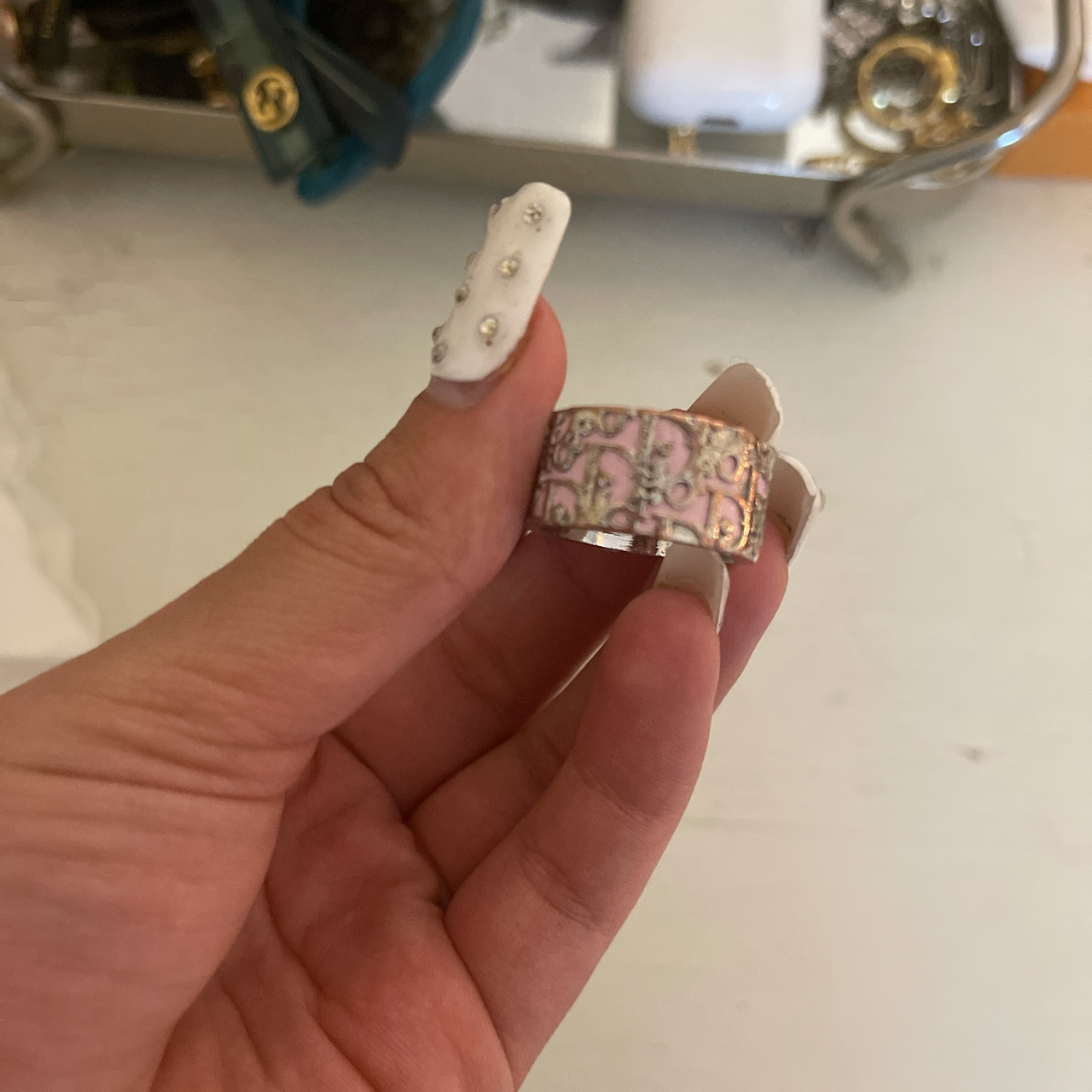 Product Image 1 - A authentic dior ring Pink coming